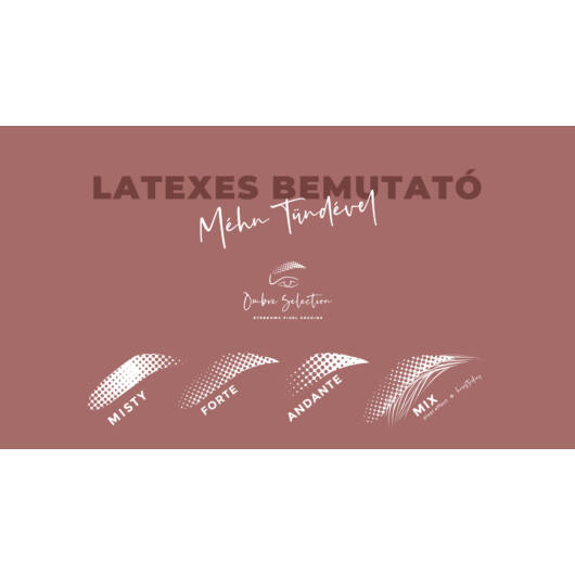 Ombre Selection - Méhn Tünde - Latex