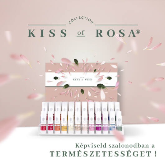 Kiss of Rosa Display package