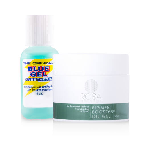 Blue Gel Anesthetic Gel and Pigment Booster Oil Gel