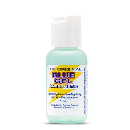 Blue Gel Anesthetic Gel