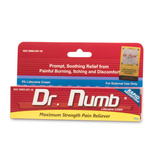 Dr. Numb Anesthetic Gel - 30 gramm