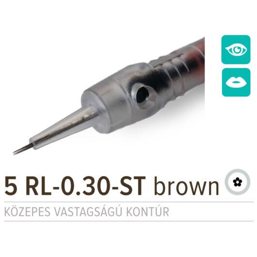 NPM 5 RL-0.30-ST BROWN